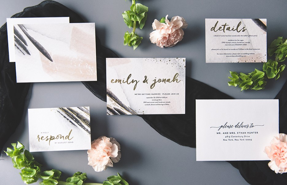 The affordable wedding invitations
