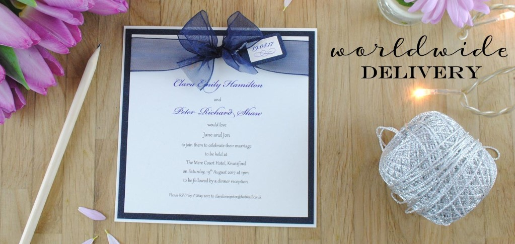 personal wedding invitation