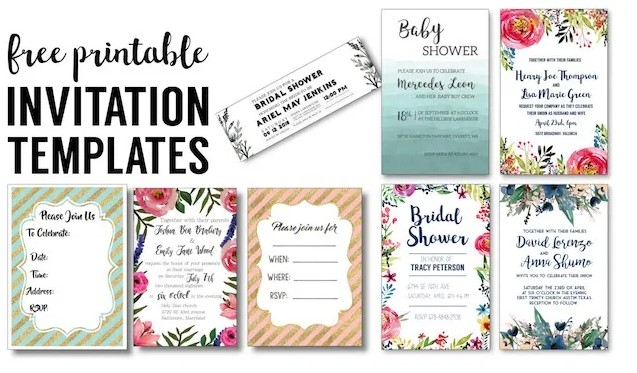 Printable Stationery Templates