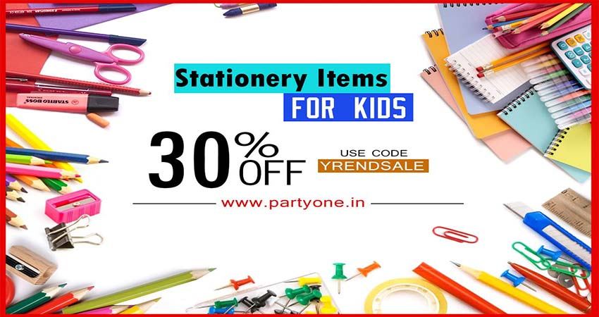 Party Stationery Supplies Every Party Needs